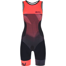 Santini Imago SL Trisuit Women, atomic orange